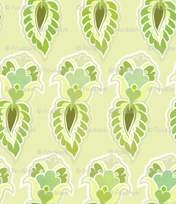 feather - lime