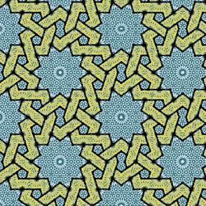 Fabric_Persia_stars
