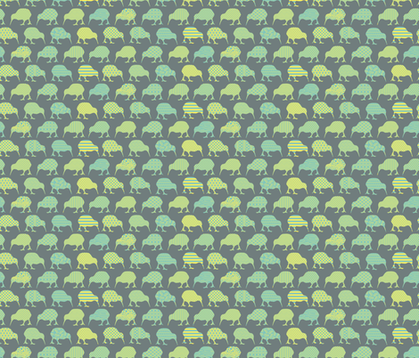 Flightless Fancy fabric by einekleinedesignstudio on Spoonflower - custom fabric