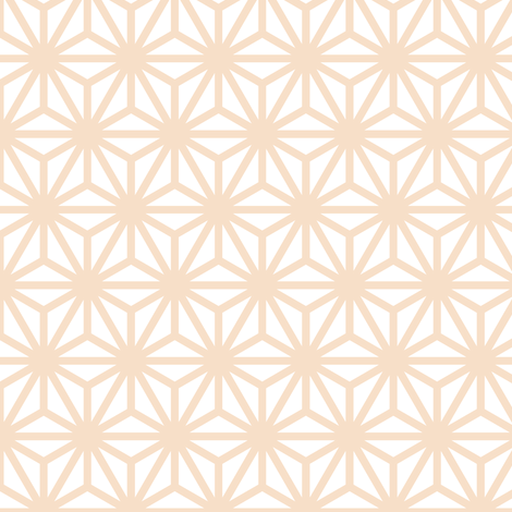 asanoha in pearl fabric by chantae on Spoonflower - custom fabric