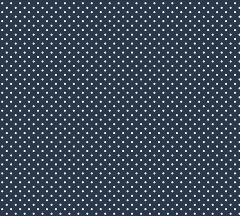navy_polka_dot fabric by silverkaos on Spoonflower - custom fabric
