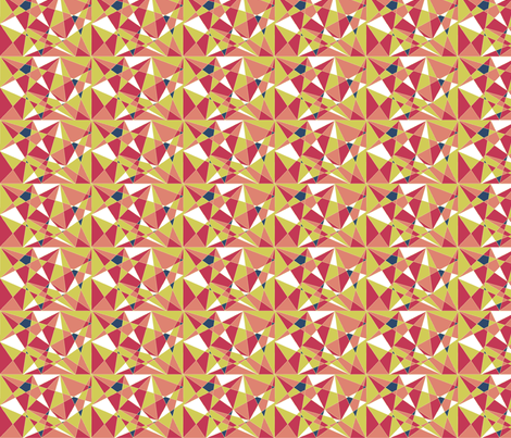 kolmiot fabric by madmaria on Spoonflower - custom fabric