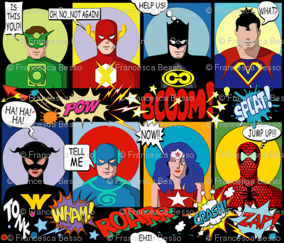 SUPER FABRIC HEROES