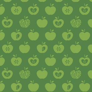 Apple-dark green