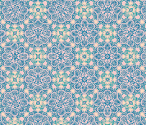 Permanent gaiety blued fabric by lisa_cat on Spoonflower - custom fabric