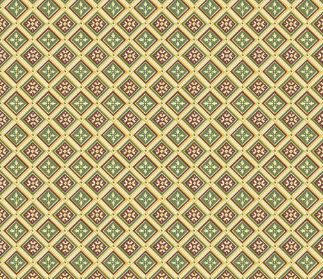 Classic squares fabric by unseen_gallery_fabrics on Spoonflower - custom fabric
