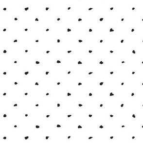 Scribble Dots / Black