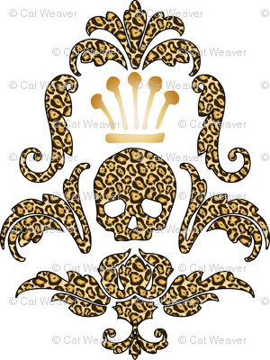 Crowned Skull-Cheetah