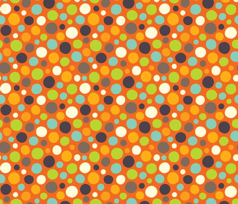 Hero-saurus dot fabric by jennartdesigns on Spoonflower - custom fabric