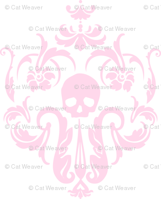 Skull-Demask Wall Decal-Sweet