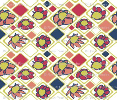 Matisse Floral Grid