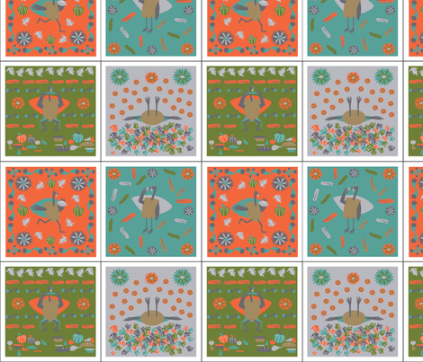 Turkey_Day fabric by moko_and_co on Spoonflower - custom fabric