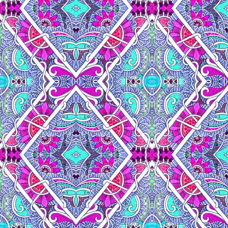 Miami Beach fabric by edsel2084 on Spoonflower - custom fabric