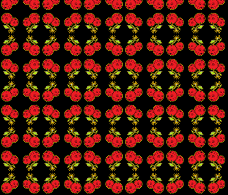 cherry bombd fabric by miss_jo_di_o on Spoonflower - custom fabric