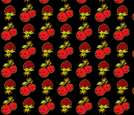 berry cherry bombd2 fabric by miss_jo_di_o on Spoonflower - custom fabric