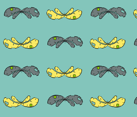 borrowd wings. 2 fabric by miss_jo_di_o on Spoonflower - custom fabric