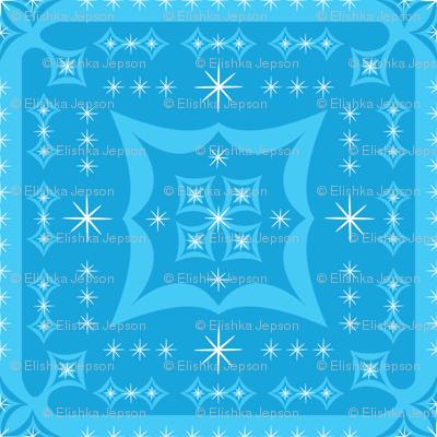 Blue Pop Squares