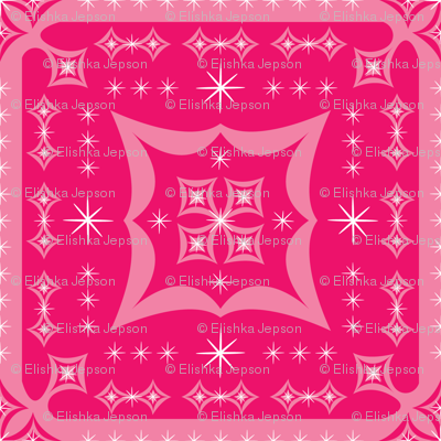 Pink Pop Squares