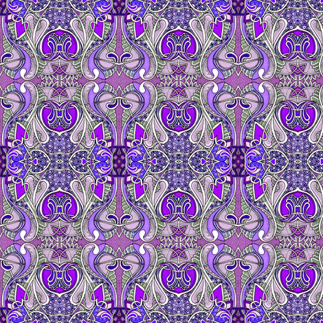 Purple Heart Tango fabric by edsel2084 on Spoonflower - custom fabric