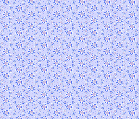 Flower-Dot Dance  fabric by robin_rice on Spoonflower - custom fabric
