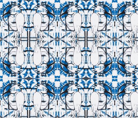 Egret fabric by suebee on Spoonflower - custom fabric