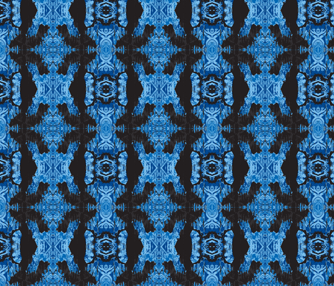 Breaking Free-blue fabric by suebee on Spoonflower - custom fabric