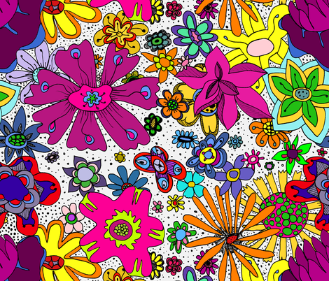 colored_floral_jpg fabric by colorfulartgirl on Spoonflower - custom fabric