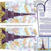 Eiffeltowerpointillismovenmittpatternwithpiecepatternandornamentpatternfatquarter_shop_thumb