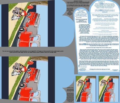 Firemanenginedalmatianovenmittpatternpiecepatternornamentpatternfatquarter_shop_preview