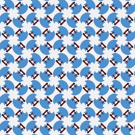 Ulu fabric by nefernika on Spoonflower - custom fabric