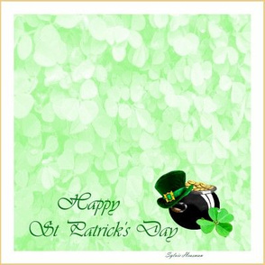 Happy St_Patrick_Quilt Block