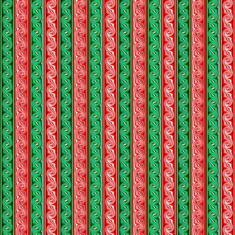 Christmas_Taffy fabric by pd_frasure on Spoonflower - custom fabric
