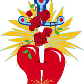 Rosicrucian Sacred Heart