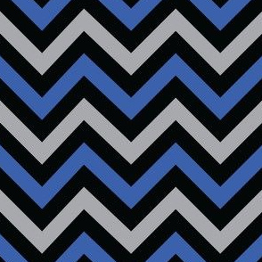Evil Robot Chevron (Blue)