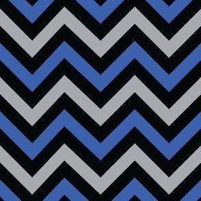 Evil Robot Chevron (Blue)