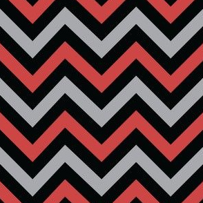 Evil Robot Chevron (Red)