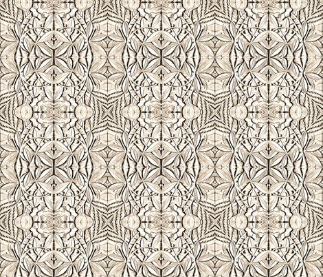 Architectural Ornament fabric by whimzwhirled on Spoonflower - custom fabric