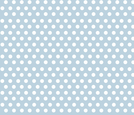 Cloud 9 Spot Small Sky fabric by designedtoat on Spoonflower - custom fabric