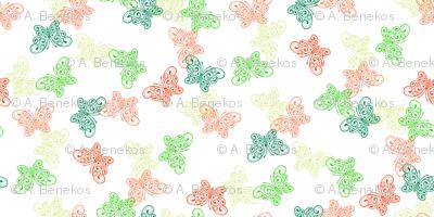 Small Moss Garden Butterflies