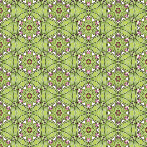 Rosalie's Garden Wheel fabric by siya on Spoonflower - custom fabric