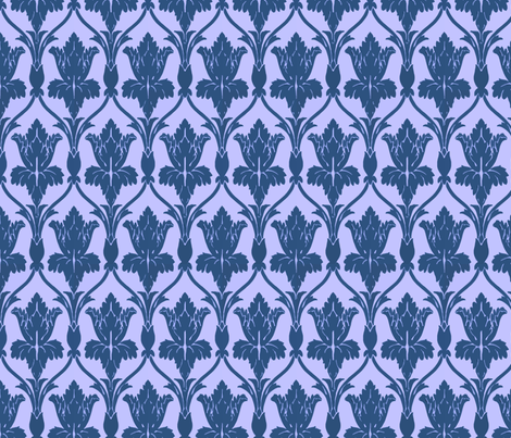 If 221b Baker Street were Really on the TARDIS fabric by fentonslee on Spoonflower - custom fabric