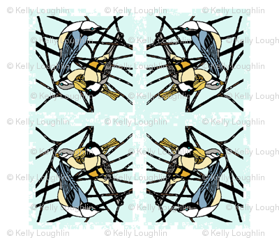 Feathered Friends: Winter Birds Napkin Set