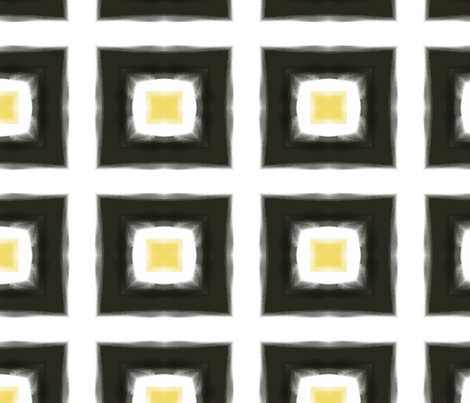northern-square-black fabric by wren_leyland on Spoonflower - custom fabric