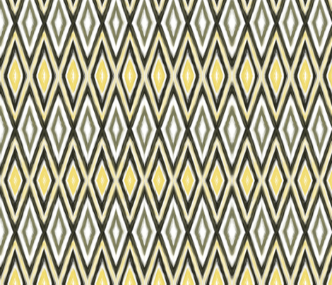 Northern Diamond Narrow fabric by wren_leyland on Spoonflower - custom fabric
