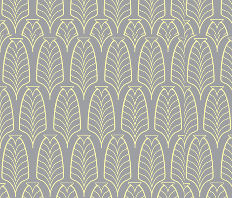 Art Deco Vintage  fabric by {whimsy} on Spoonflower - custom fabric