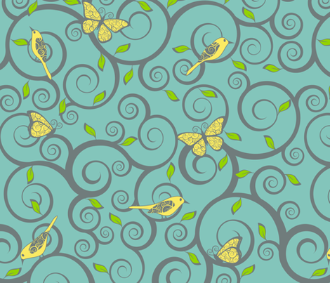 Fancy That... fabric by shelleymade on Spoonflower - custom fabric