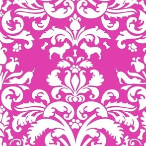 doggy damask
