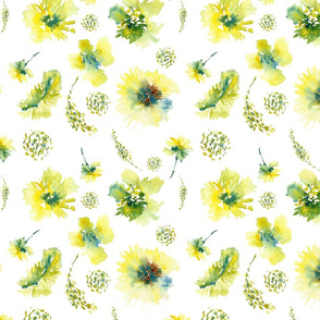 Watercolor Flower, Spring 2013 Collection, No. 5