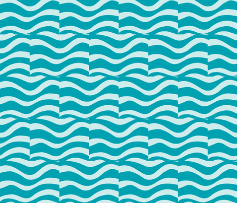 Water Me-ch-ch fabric by syllatham on Spoonflower - custom fabric