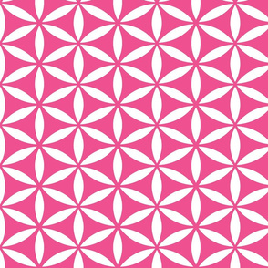 Flower of Life - Magenta
